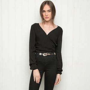 Brandy Melville Black Coco Top